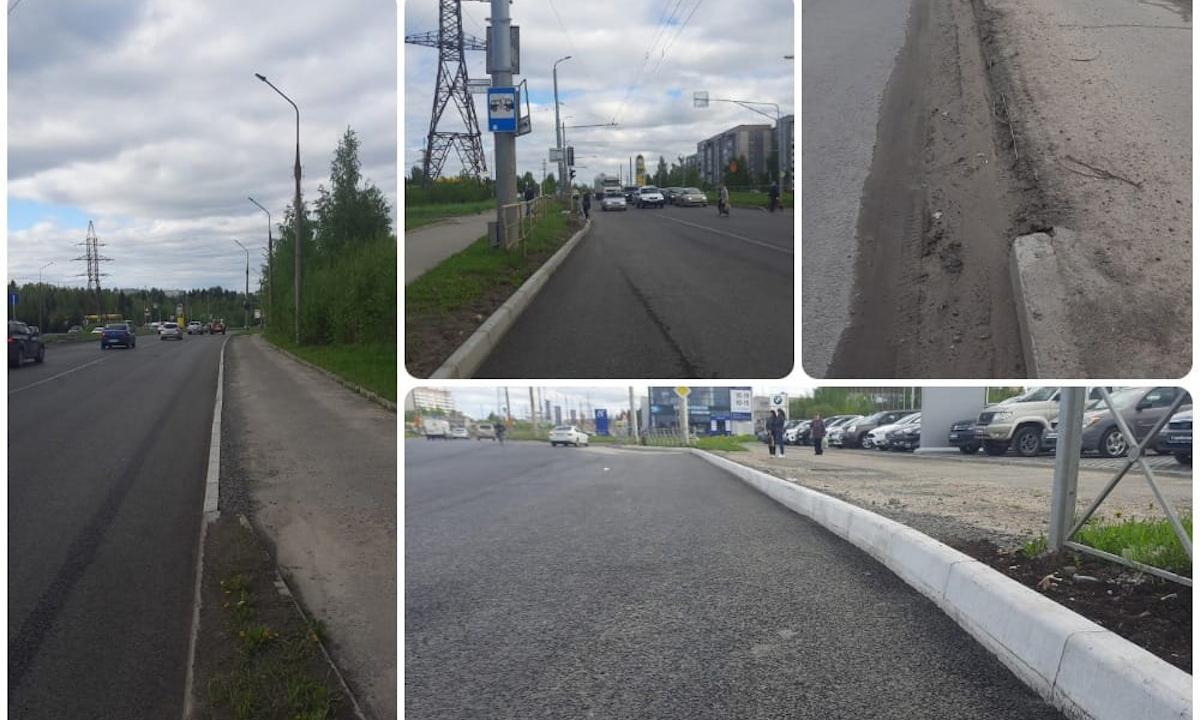 бордюр в Петрозаводске