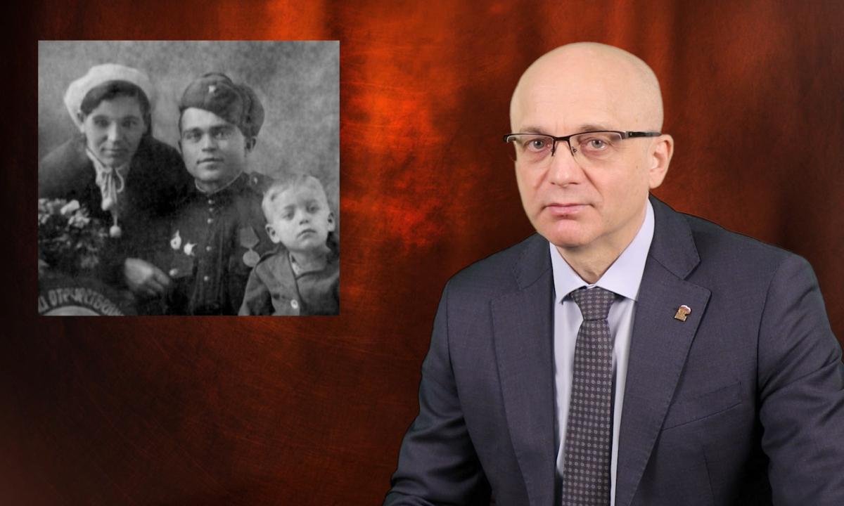 Элиссан Шандалович рассказал о дедушке-фронтовике
