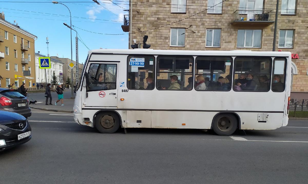 маршрутка в Петрозаводске