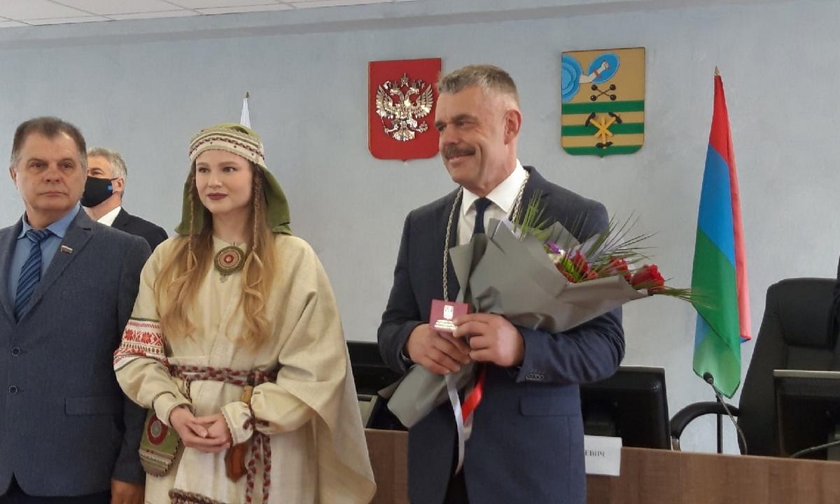 мэр Петрозаводска Любарский