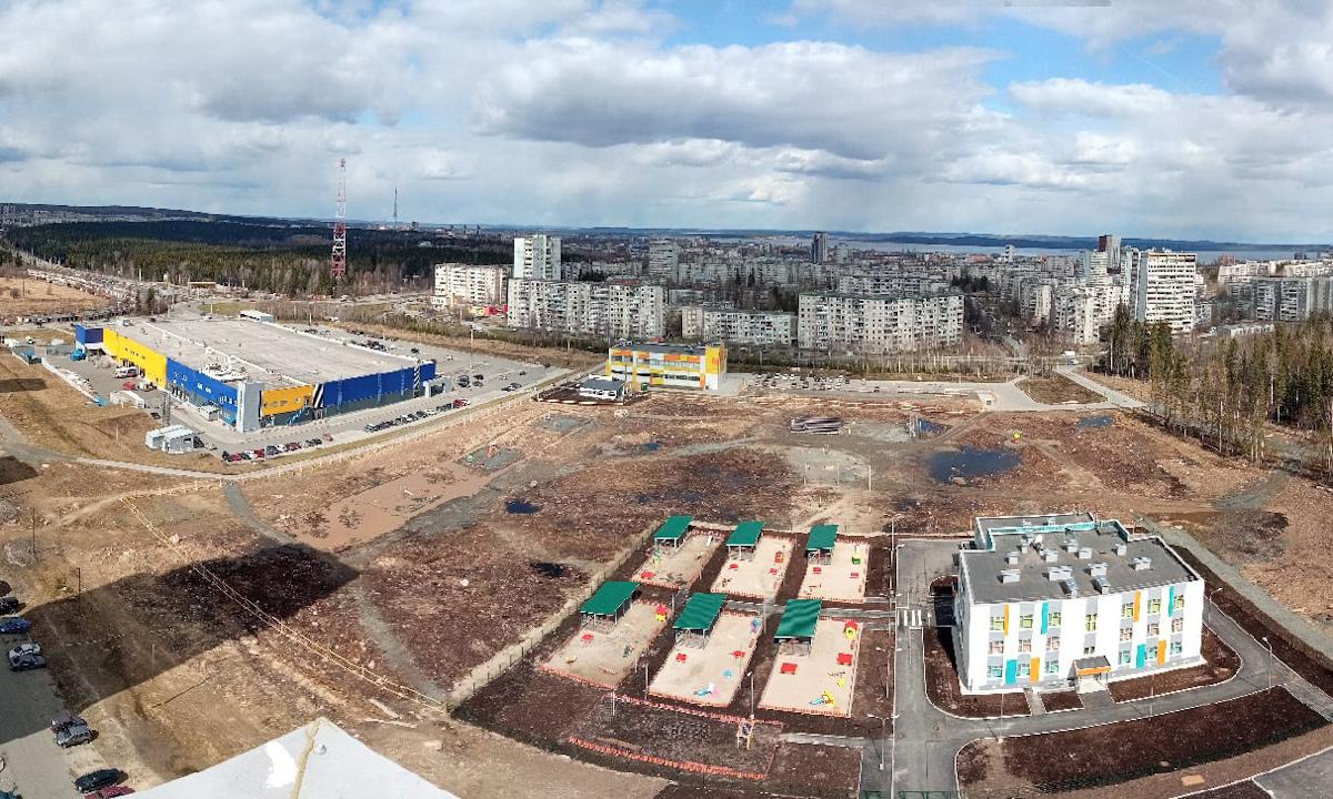 Строительство школы в Петрозаводске
