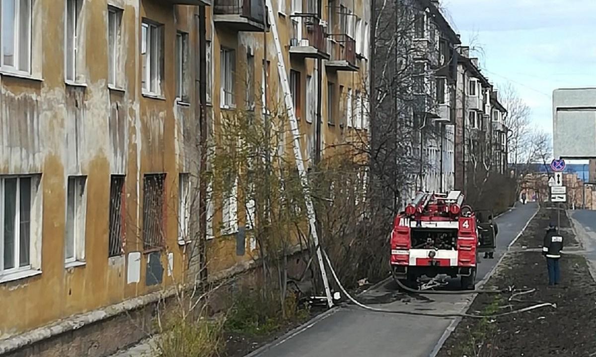 пожар Петрозаводск