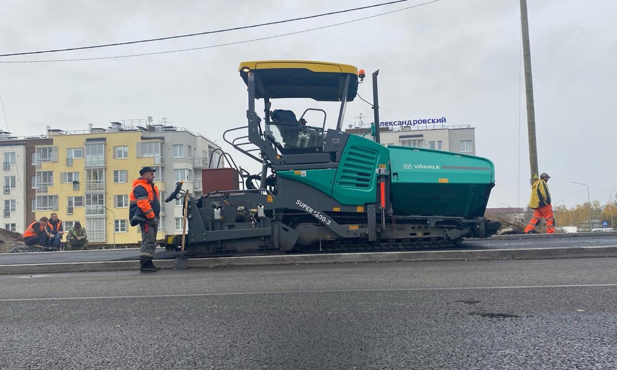 ремонт дорог в петрозаводске