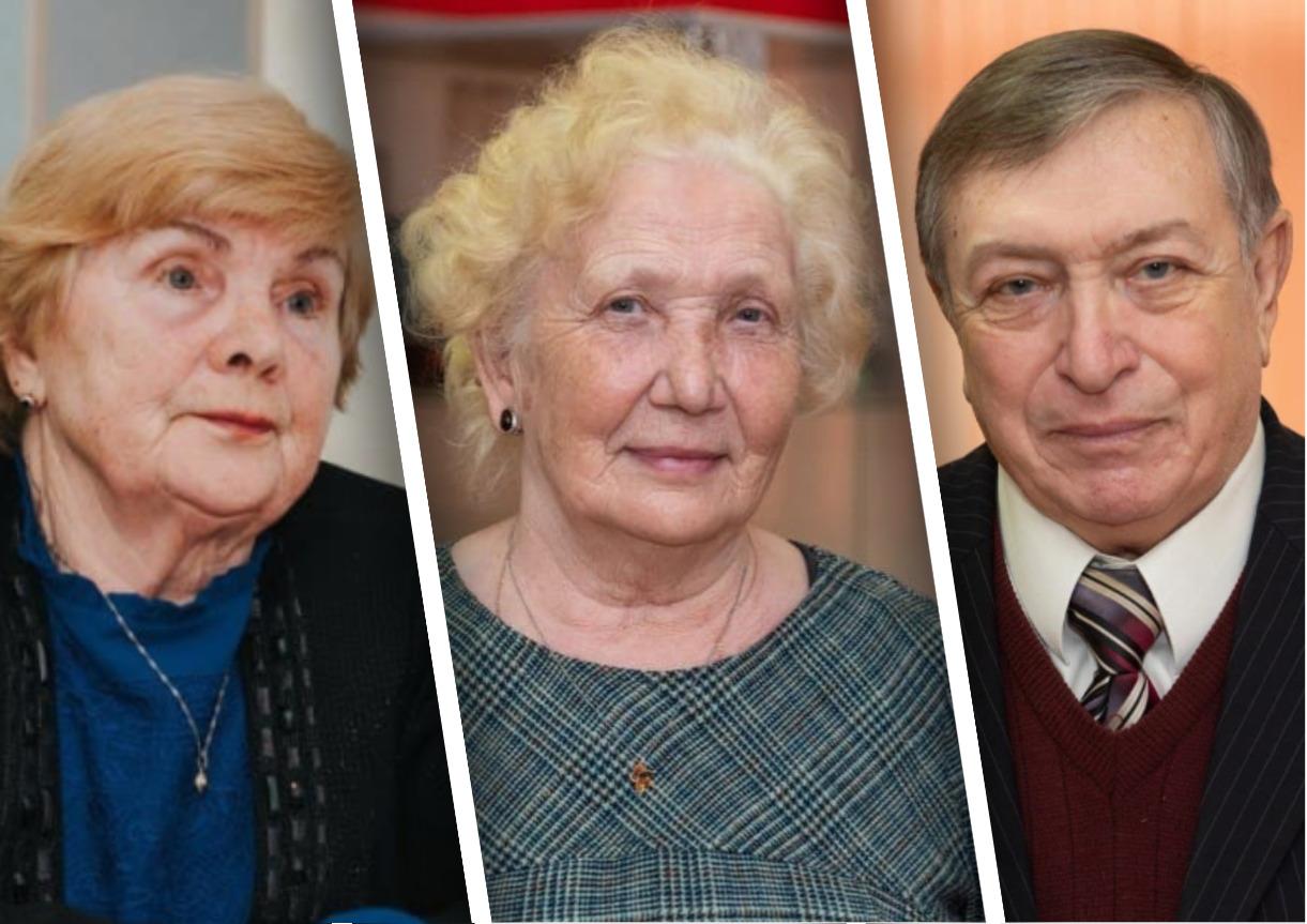 Клавдия Нюппиева Вера Ермакова Николай Черненко