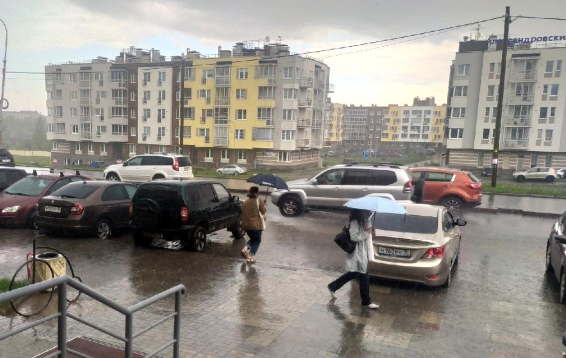 дожди в Карелии