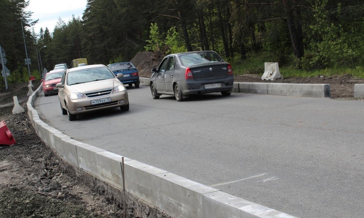 дорога в Петрозаводске