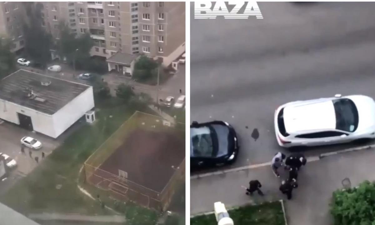 массовая драка в Москве