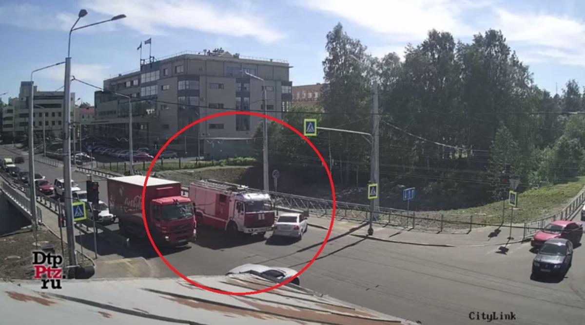 ДТП в центре Петрозаводска