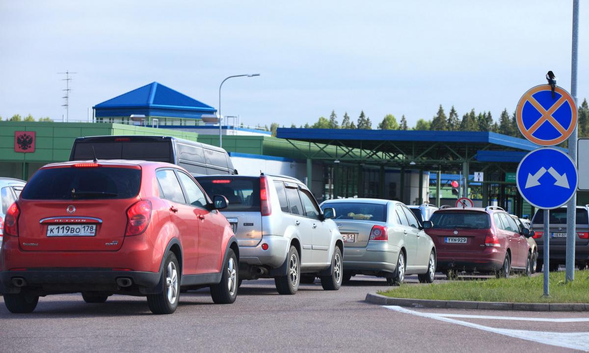 Финляндия граница