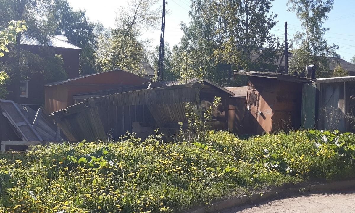 гаражи в Петрозаводске