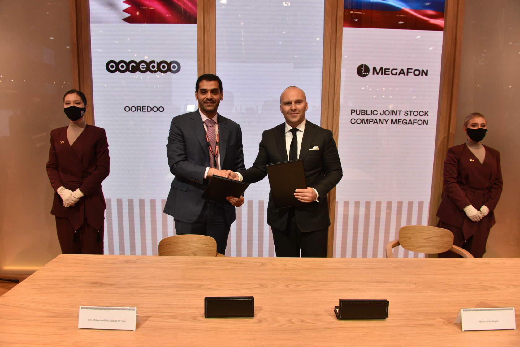 мегафон, катарский оператор