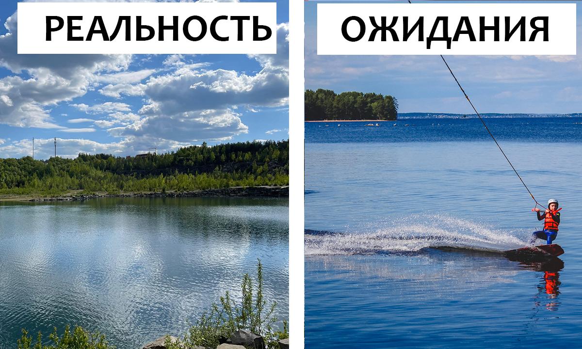 На одном из петрозаводских карьеров хотят организовать экстремальный аттракцион