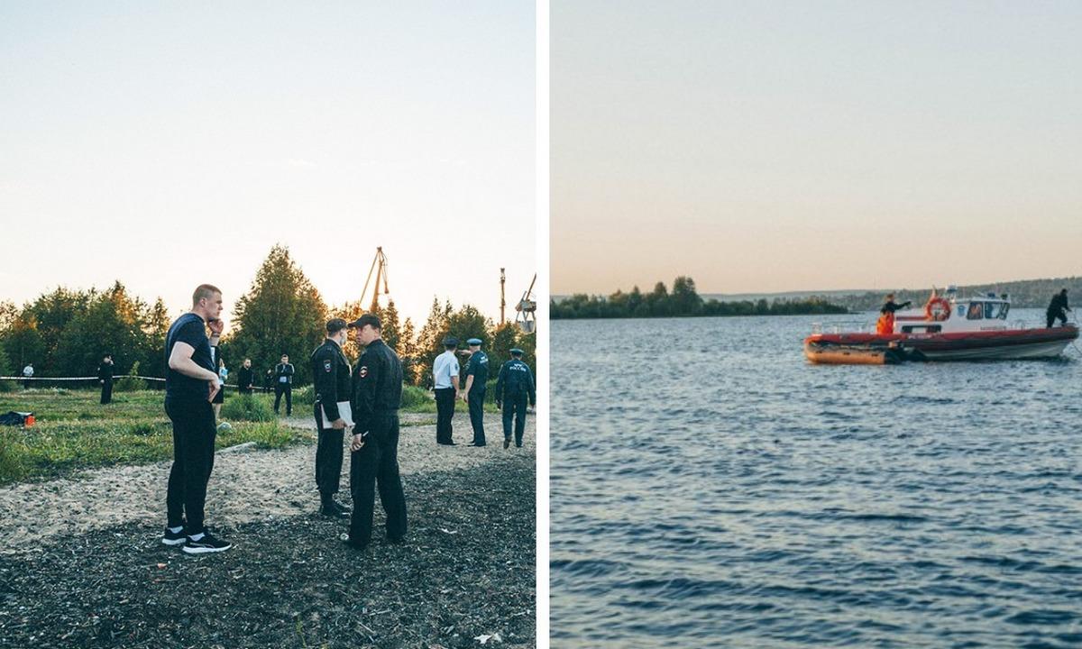утонули на Онежском озере