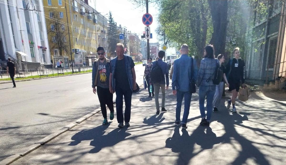пешеходы в Петрозаводске