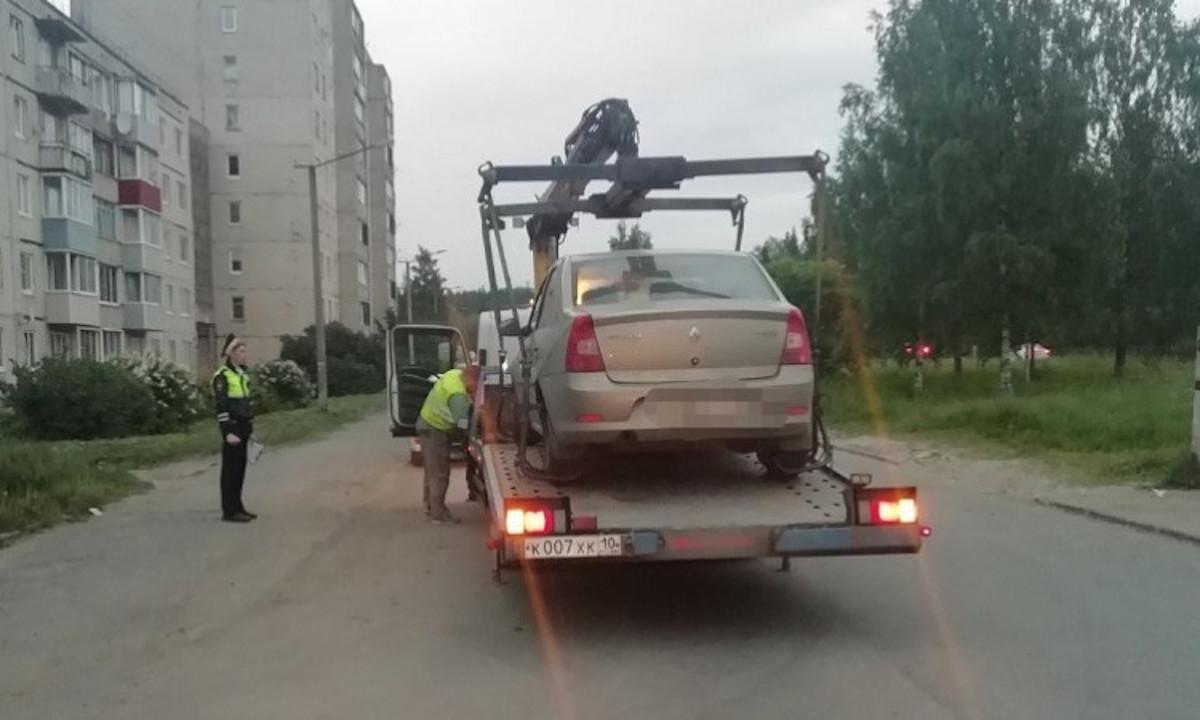 пьяный водитель в Петрозаводске