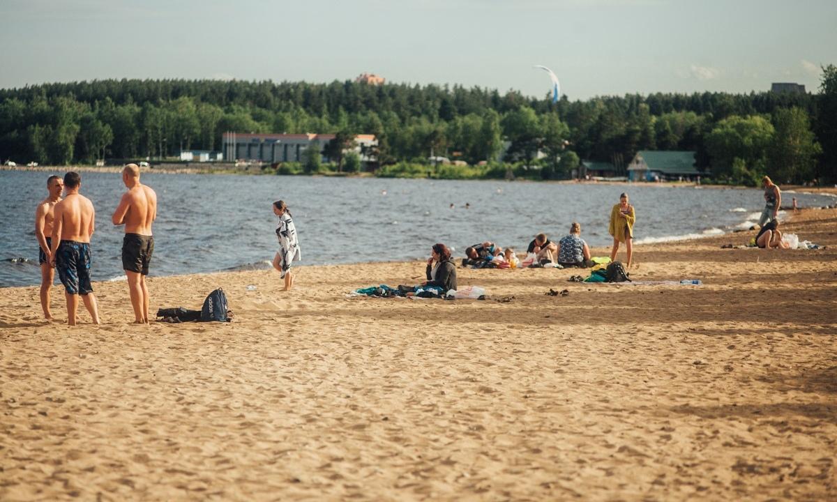 пляж Петрозаводск