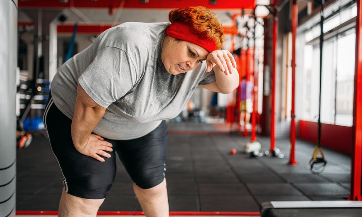 женщина похудение