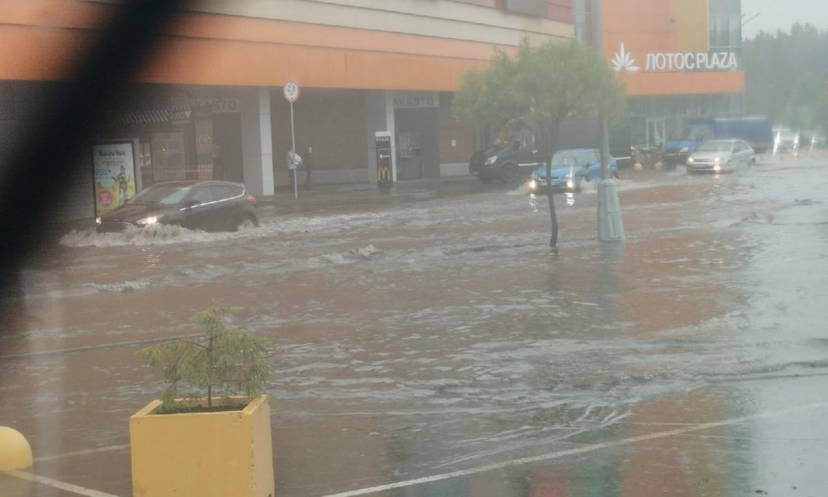 потоп в Петрозаводске