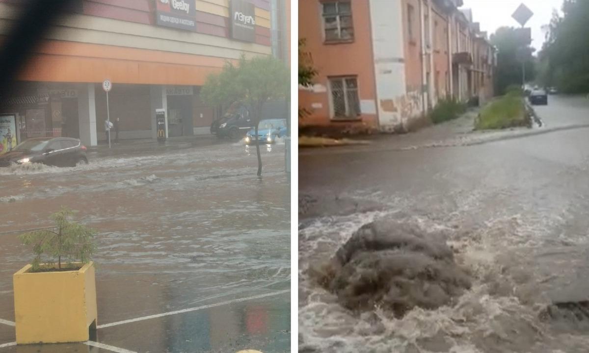 потоп Петрозаводск