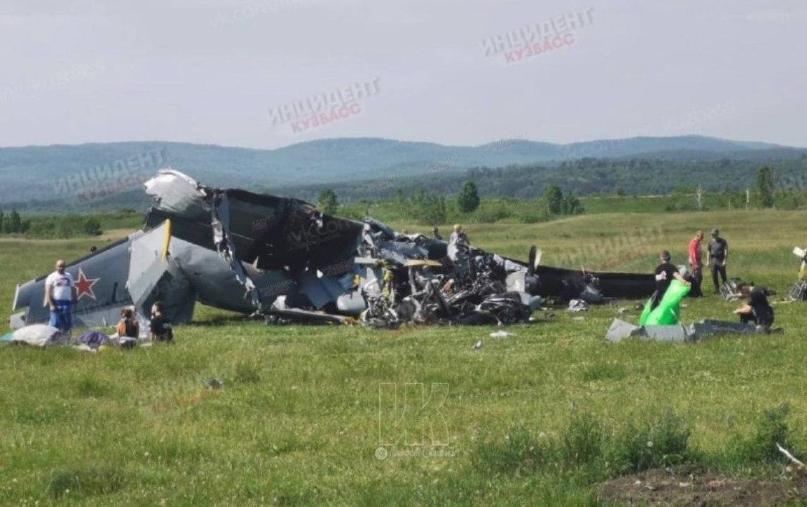 самолет разбился в Кемеровской области
