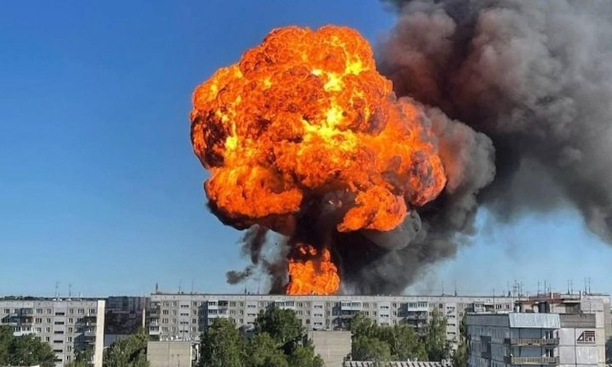взрыв заправки в новосибирске