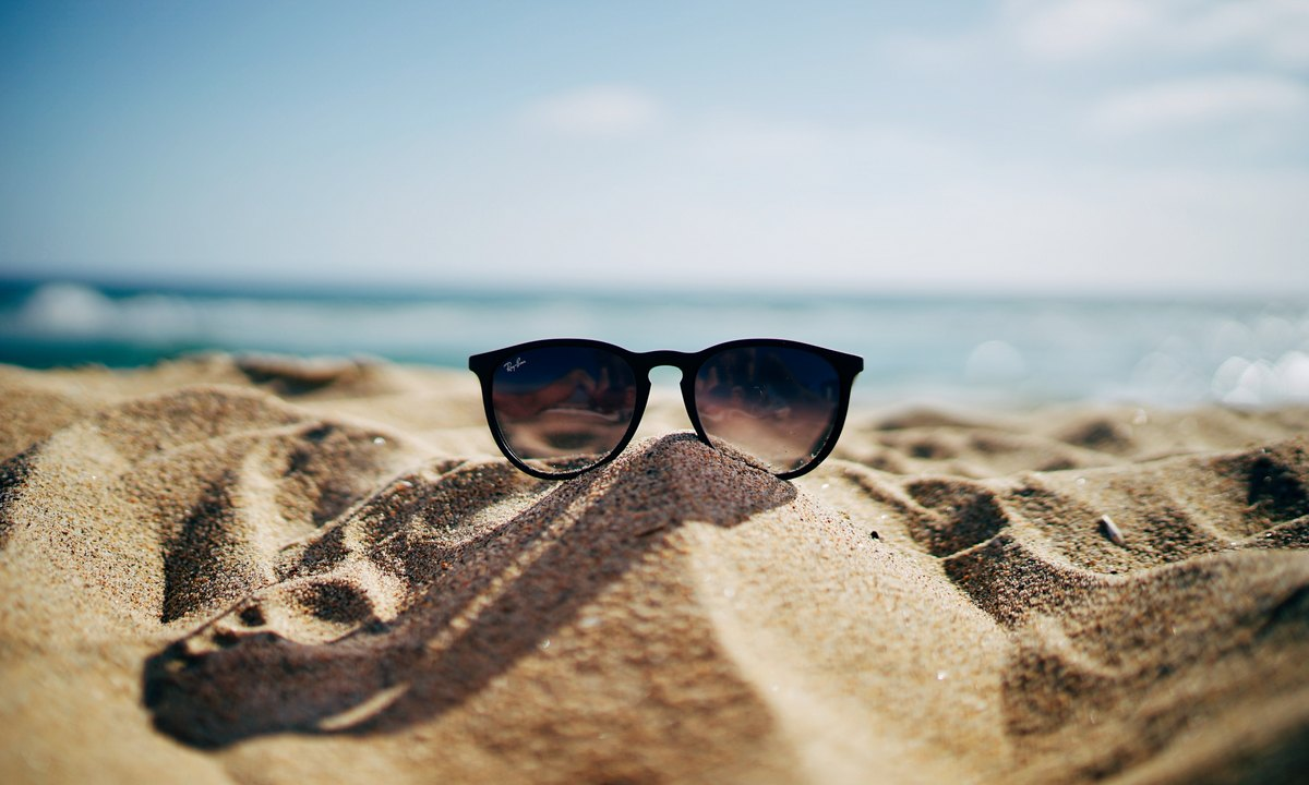 жара, лето, песок