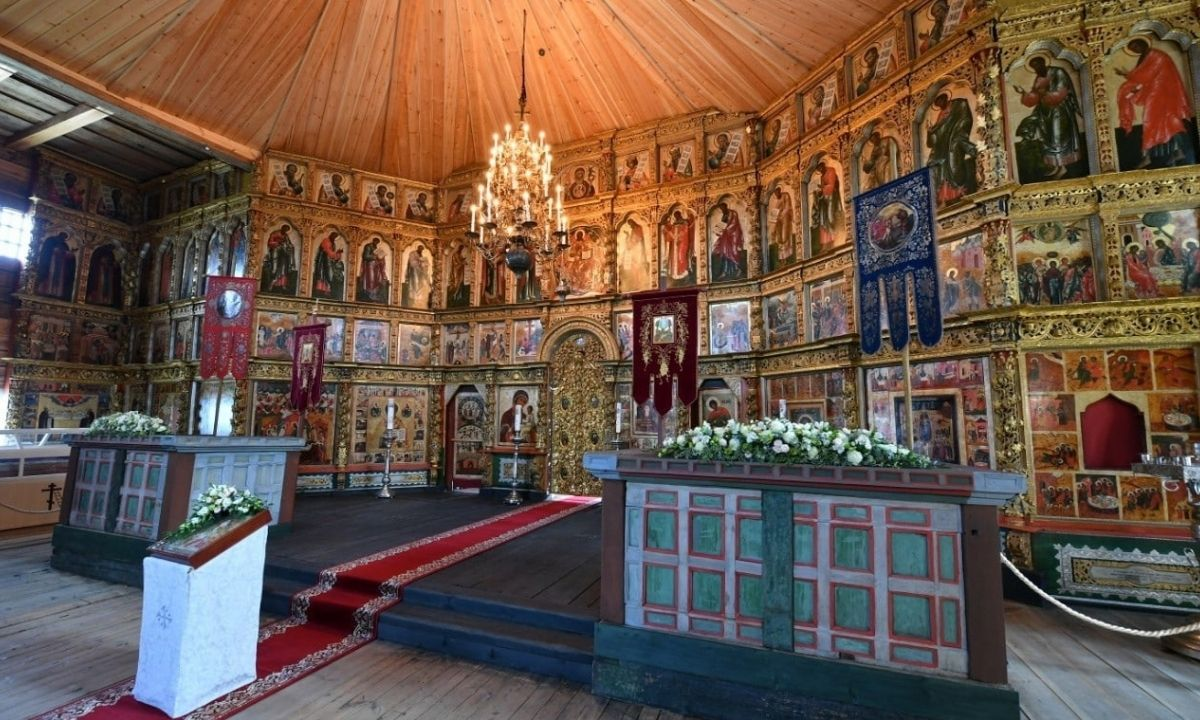 церковь Кижи
