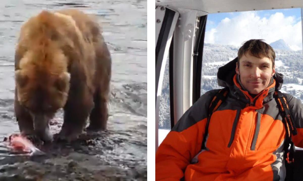 подробности нападения медведя на туриста в природном парке