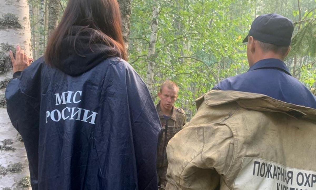 добровольцы, пожарные, Карелия
