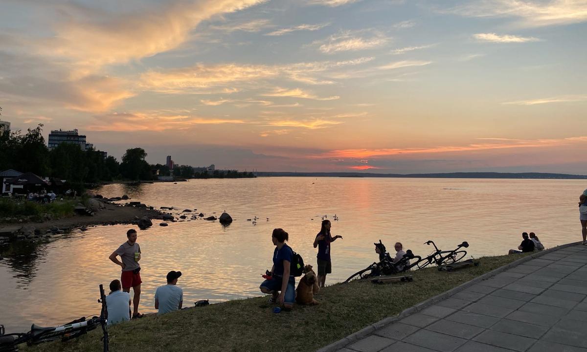 лето в петрозаводске