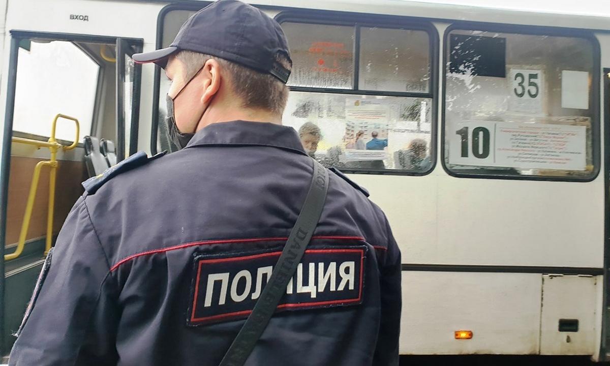 маршрутка полиция