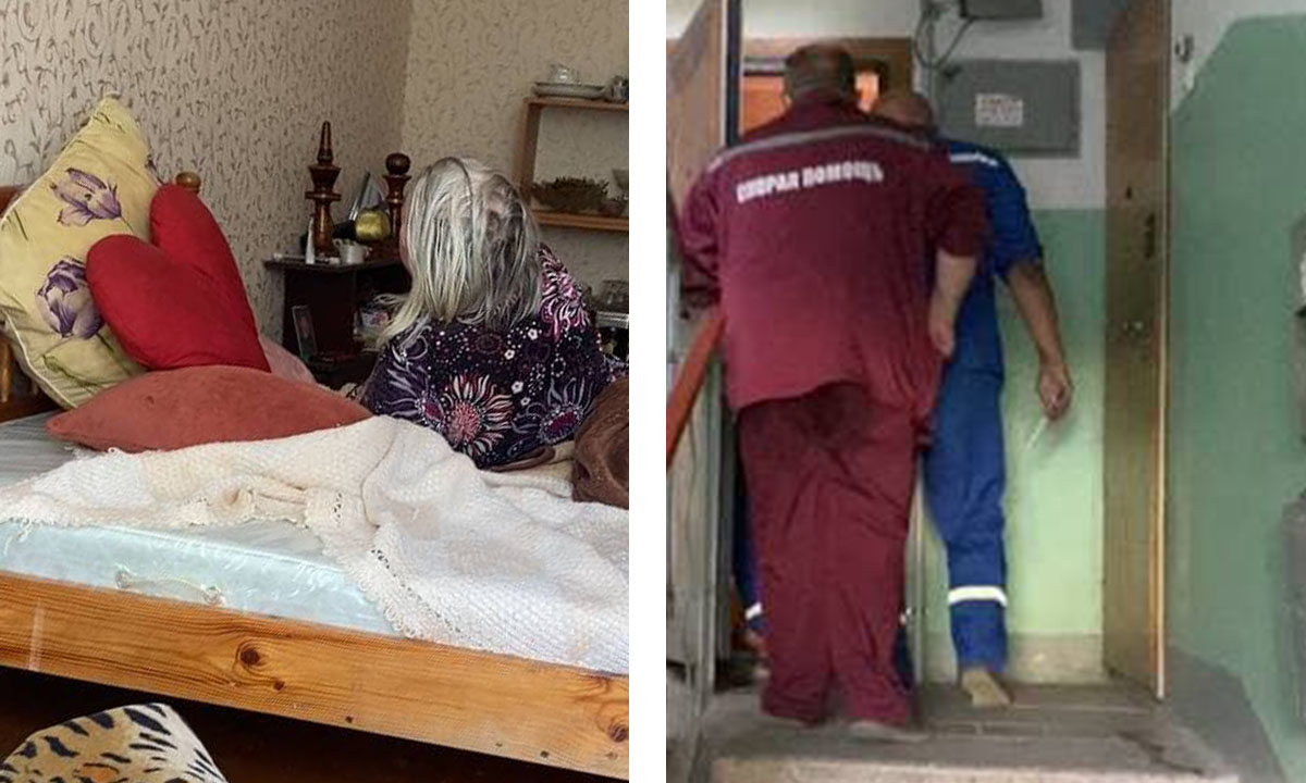 В Петрозаводске пенсионерка заперта в квартире