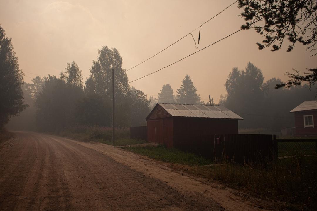 лесные пожары в Найстенъярви