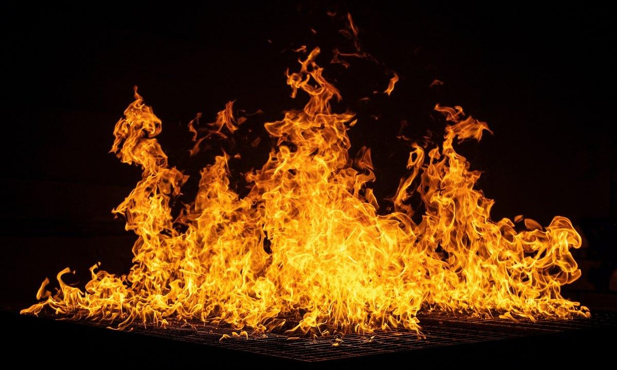 пожар, опасность, Карелия