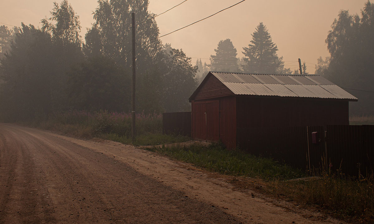 Власти еще одного района Карелии признали угрозу населенным пунктам из-за огня
