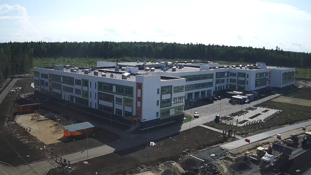 новая школа на Древлянке