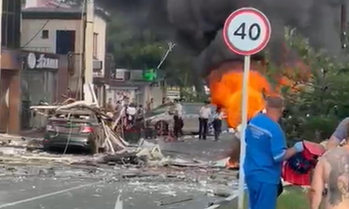 взрыв в гостинице