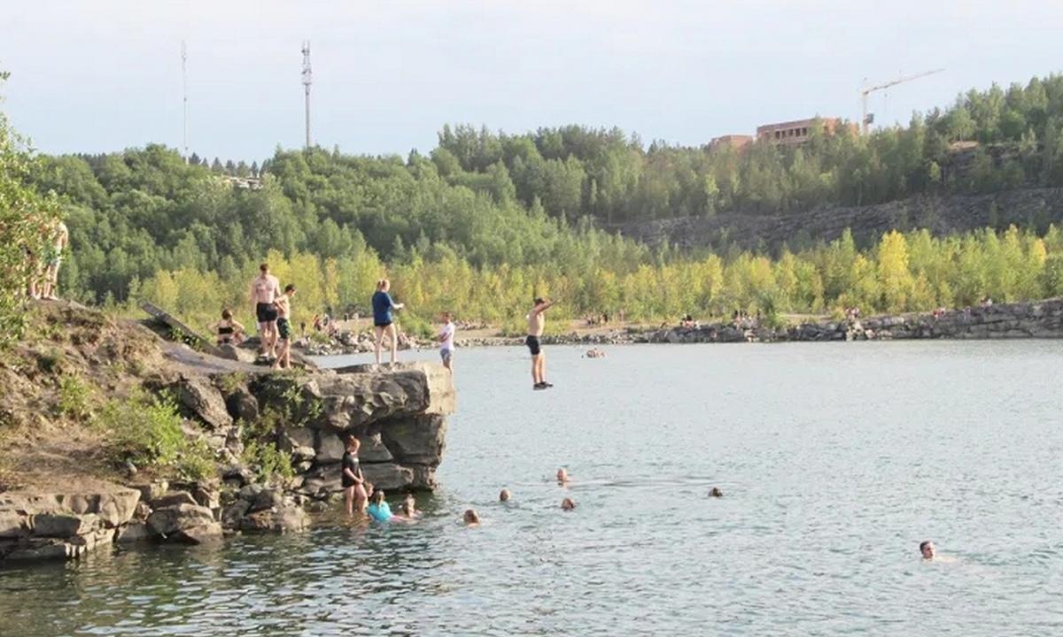 жара в Петрозаводске