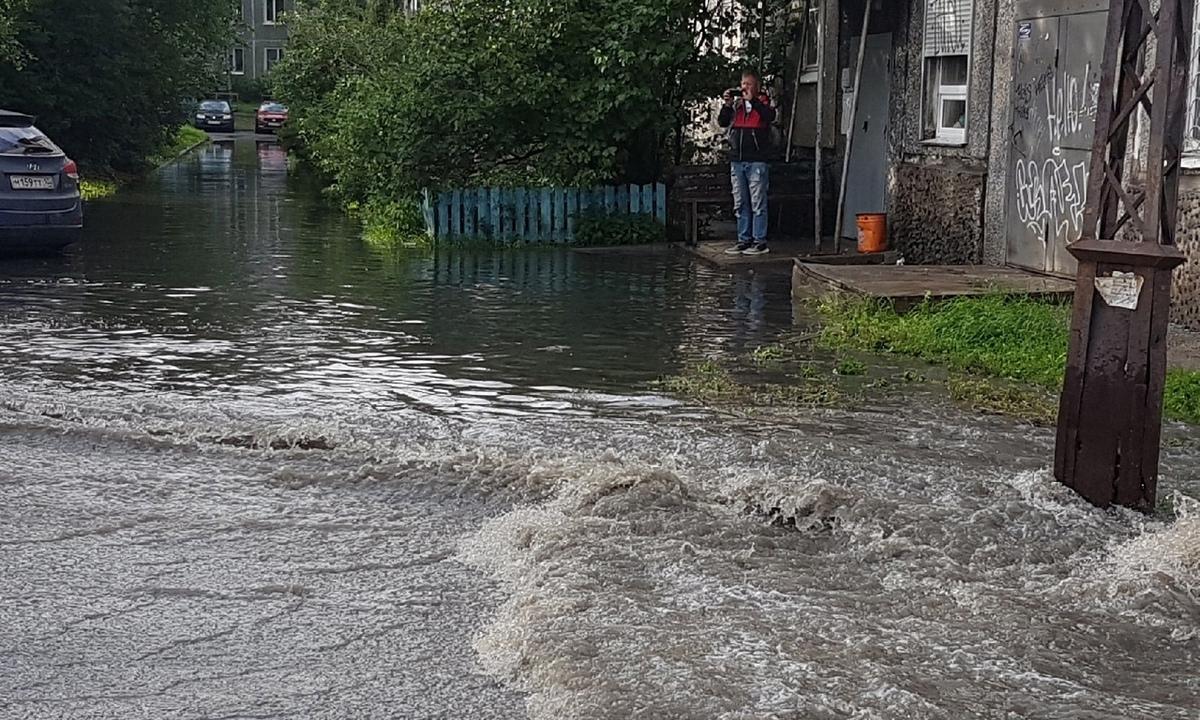 дождь Карелия