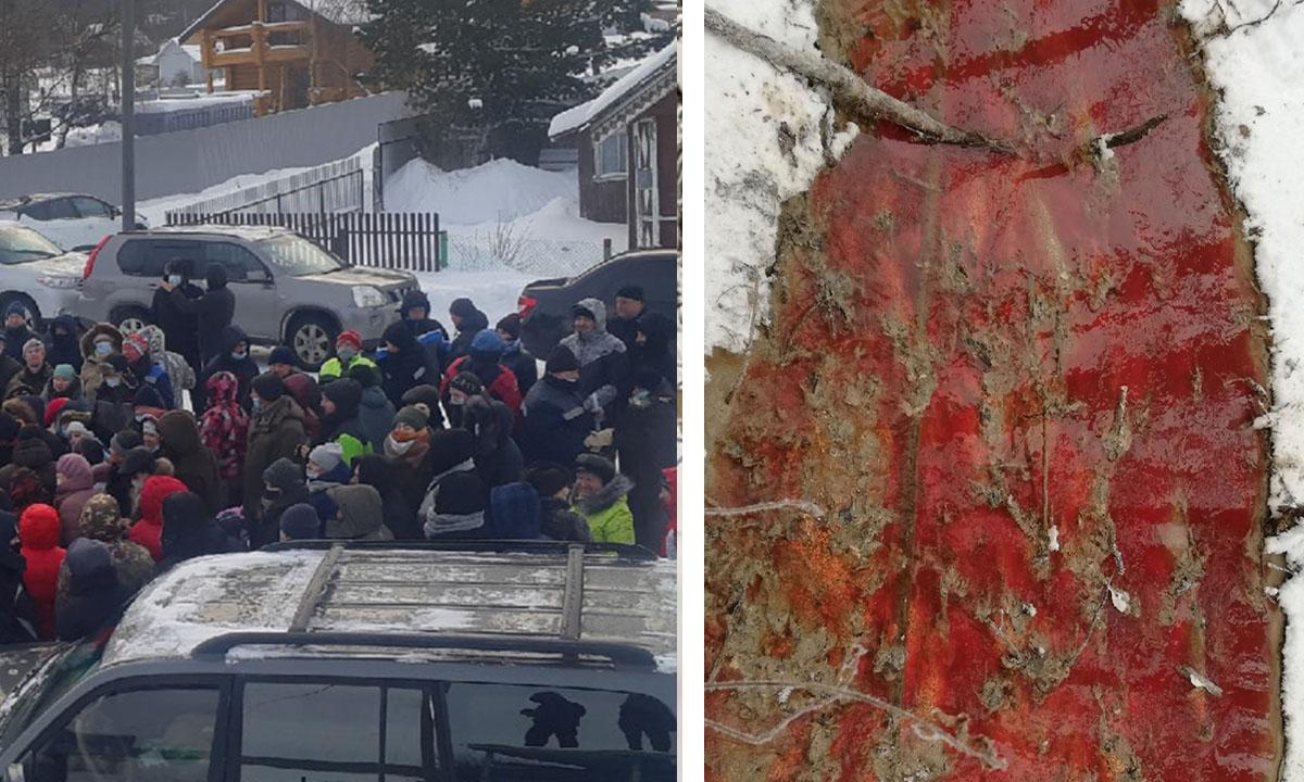 Жители Карелии собирают подписи против форелевых хозяйств