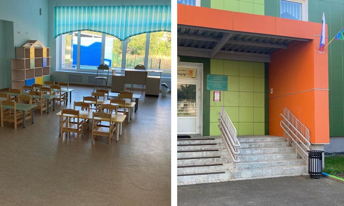 Скандальный детский сад в Петрозаводске открыли после ремонта