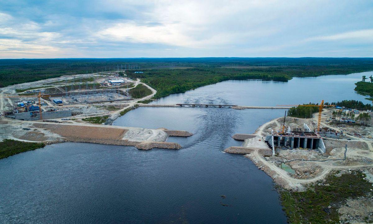 ГЭС Белопорожская