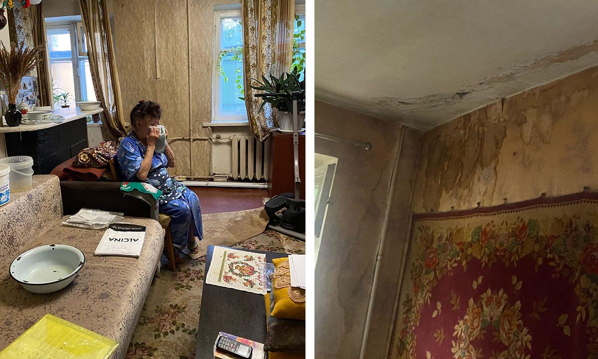 Петрозаводская пенсионерка рассказала Путину, как это жить в квартире без крыши
