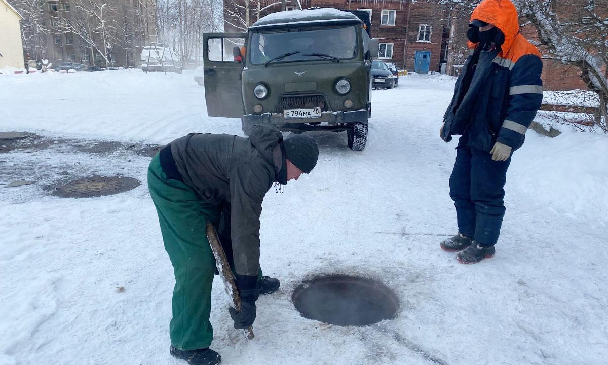В Петрозаводске не все дома готовы к морозам