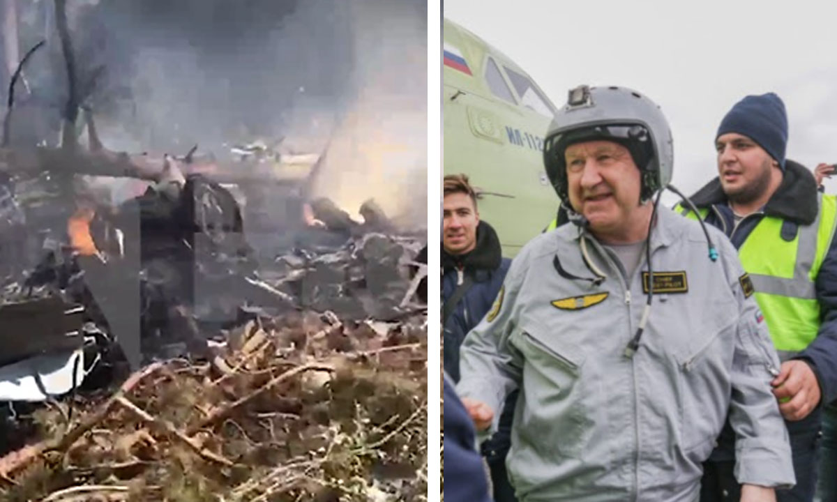 Стало известно, кто погиб при крушении новейшего транспортного самолета