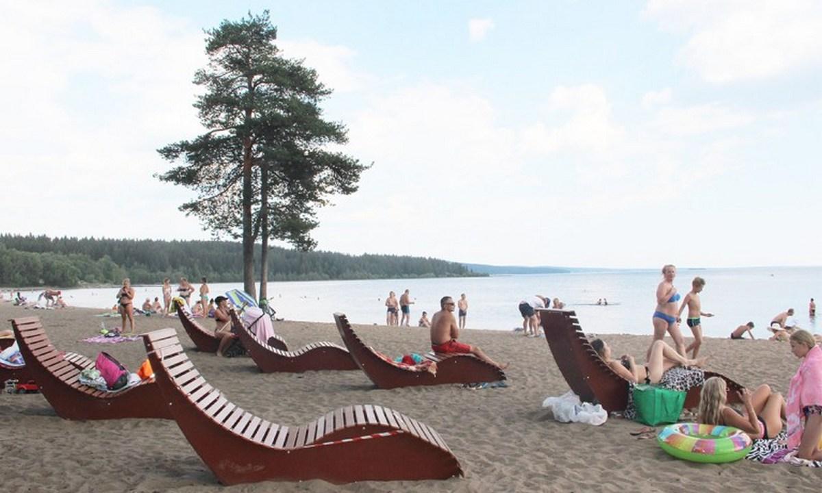пляж Пески