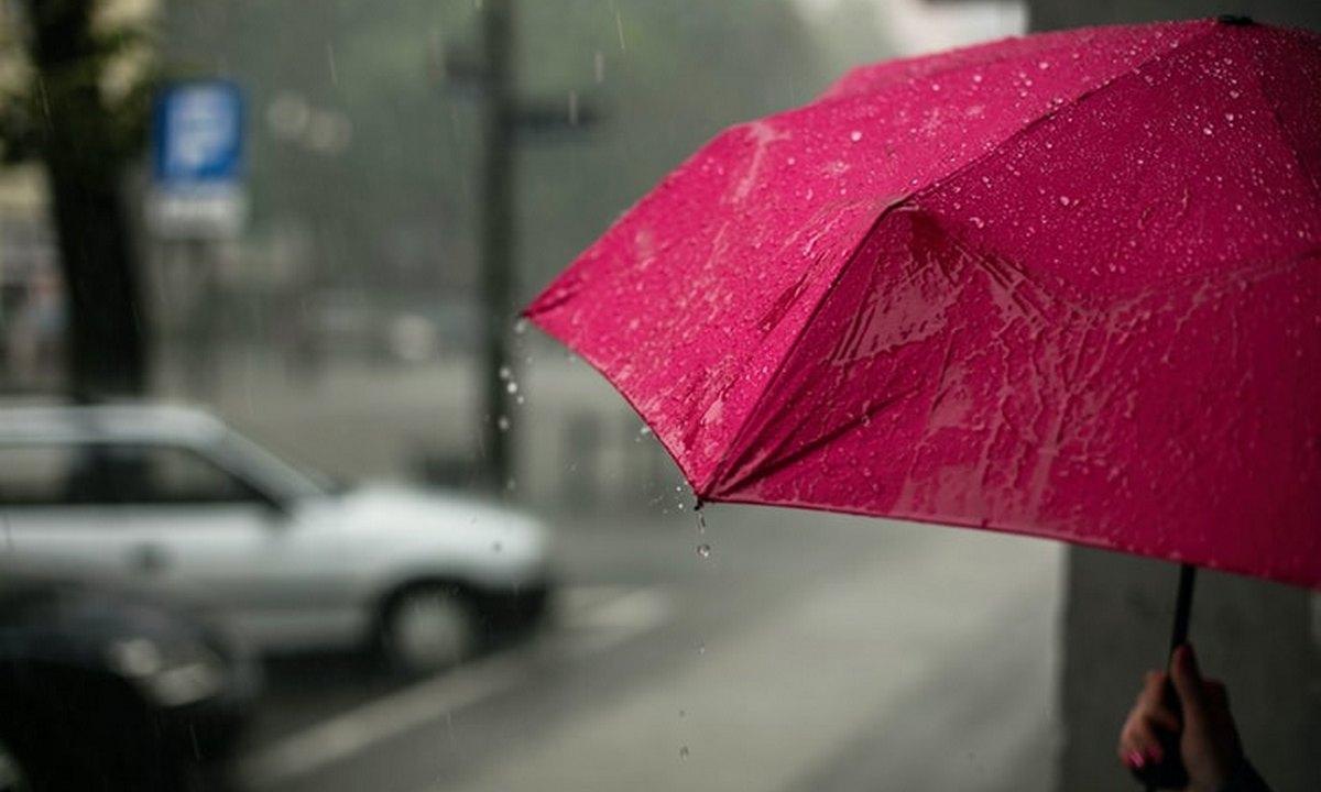дождь, петрозаводск, зонт