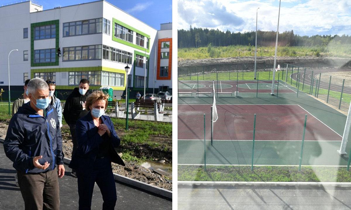 новая школа в Петрозаводске