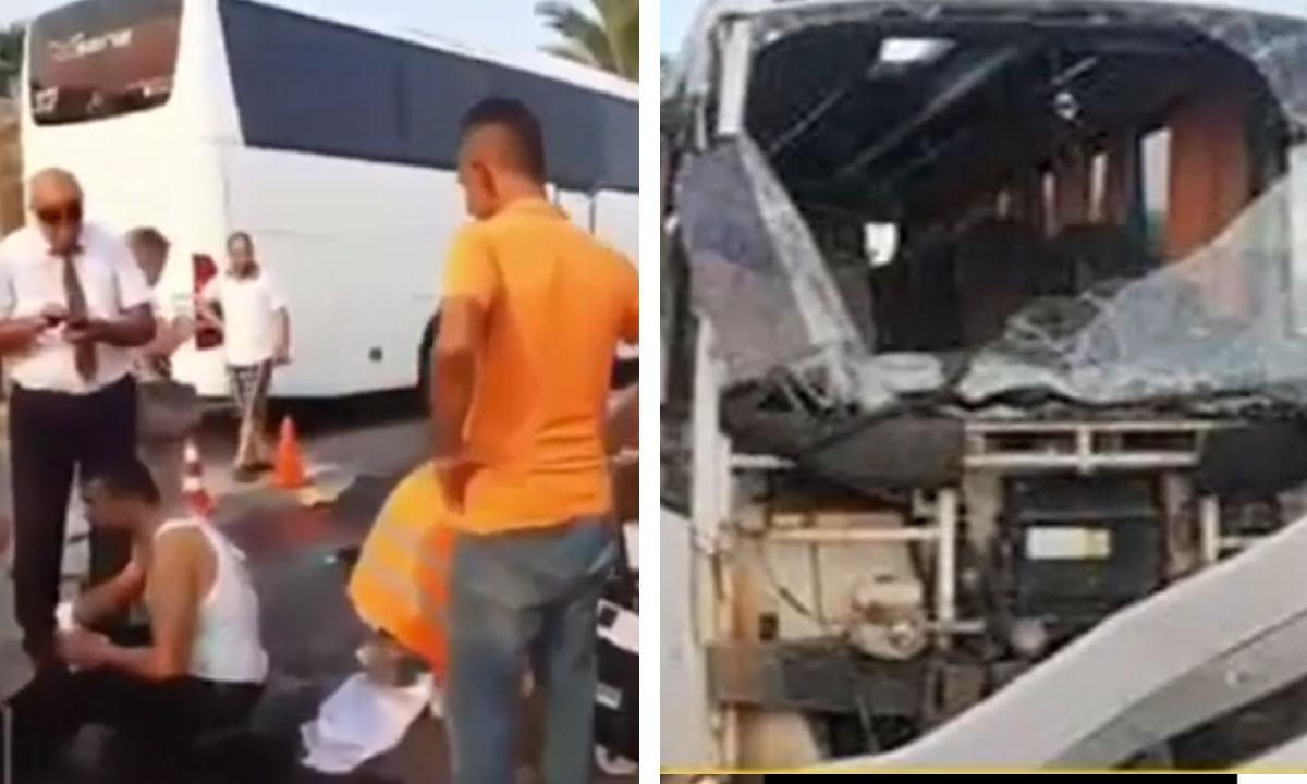 В Турции перевернулся автобус с российскими туристами: есть погибшие