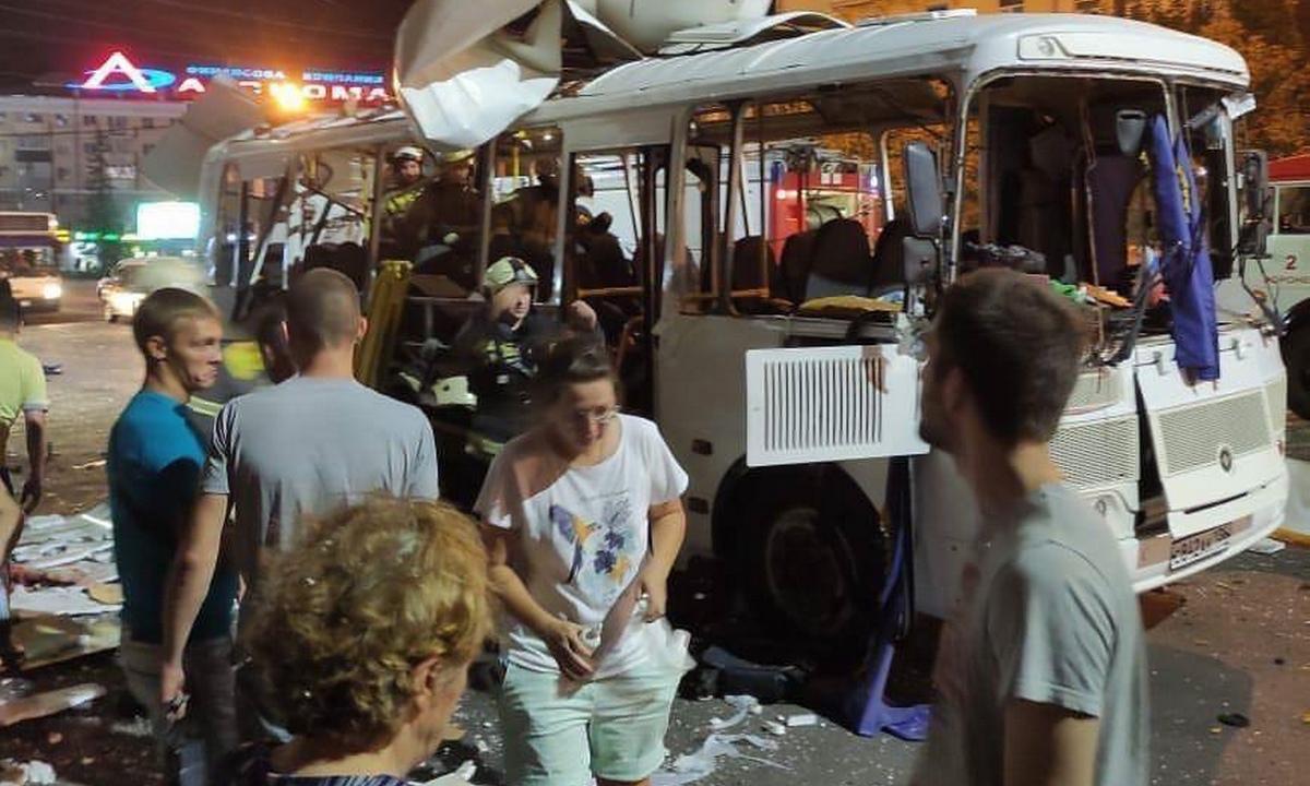 взрыв автобуса Воронеж
